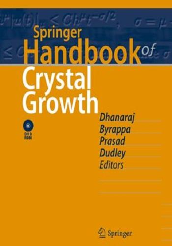 كتاب Springer Handbook of Crystal Growth  S_h_c_11