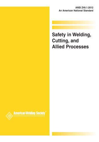 كتاب Safety in Welding, Cutting, and Allied Processes S_i_w_11