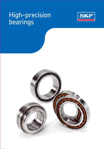 كتاب High Precision Bearings S_k_f_10
