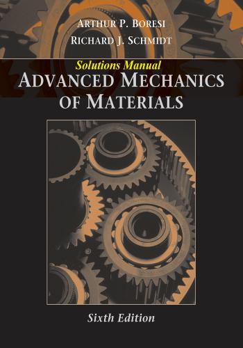 حل كتاب Advanced Mechanics of Materials - Sixth Edition Solutions Manual  S_m_t_12