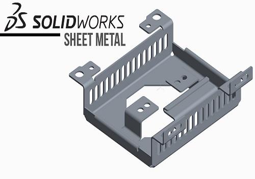 كورس تعليم الشيت ميتال في السوليدوركس - Sheet Metal with SolidWorks S_m_w_11