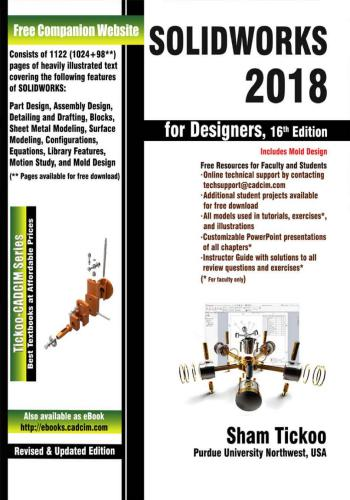 كتاب SOLIDWORKS 2018 for Designers S_w_1811