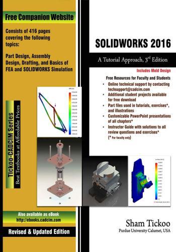 كتاب SOLIDWORKS 2016 - A Tutorial Approach  S_w_2_16