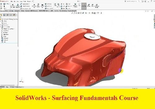 دورة تعليم أساسيات السطوح باستخدام برنامج سوليدوركس - SolidWorks - Surfacing Fundamentals Course S_w_i_16