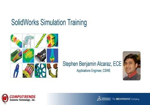 كورس شرح برنامج سوليدوركس - SolidWorks Simulation Training S_w_s_11