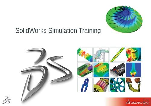 دورة تعليم المحاكاة باستخدام السوليدوركس - SolidWorks Simulation Training  S_w_s_12