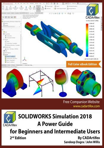 كتاب SOLIDWORKS Simulation 2018 - A Power Guide for Beginners and Intermediate Users  S_w_s_15