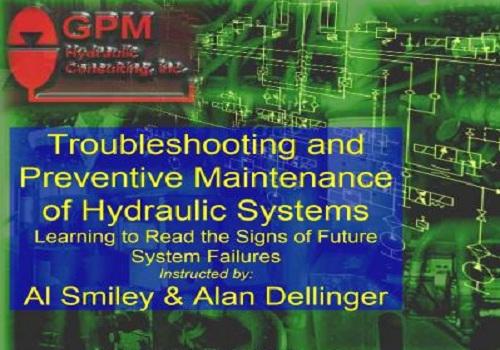 محاضرة بعنوان Troubleshooting and Preventive Maintenance of Hydraulic Systems T_a_p_11
