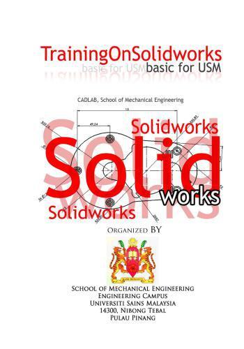 كتاب Training on Solidworks Basic for USM  T_o_s_11