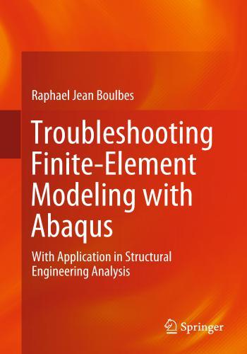 كتاب Troubleshooting Finite-Element Modeling with Abaqus  T_s_f_12