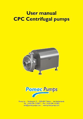 كتاب User Manual - CPC Centrifugal Pumps  U_m_c_10