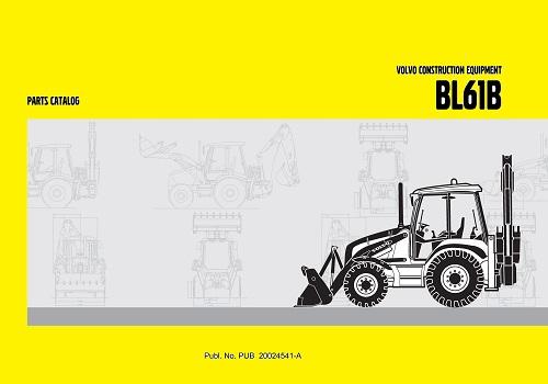 كتالوج معدات فولفو Volvo Construction Equipment BL61B Parts Catalog  V_c_e_10