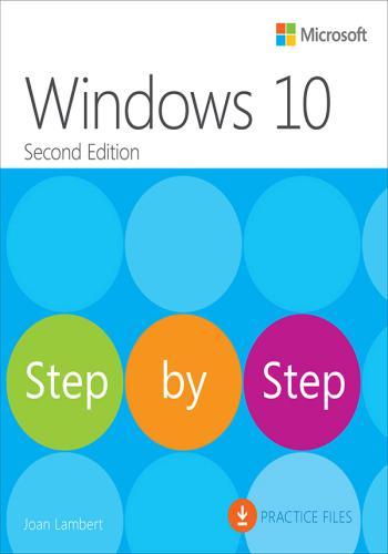كتاب Windows 10 Step by Step  W_1_0_10
