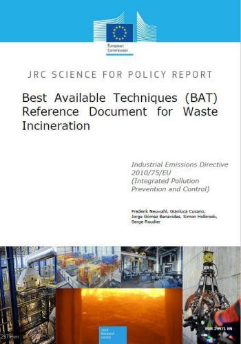 كتاب Reference Document on the Best Available Techniques for Waste Incineration  W_i_e_10