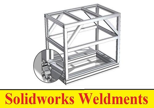 كورس تعليم اللحامات في السوليدوركس - ويلدمينت - Solidworks Weldments W_s_w_10