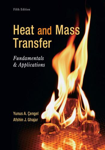كتاب Heat and Mass Transfer - Fundamentals & Applications  Y_a_c_12