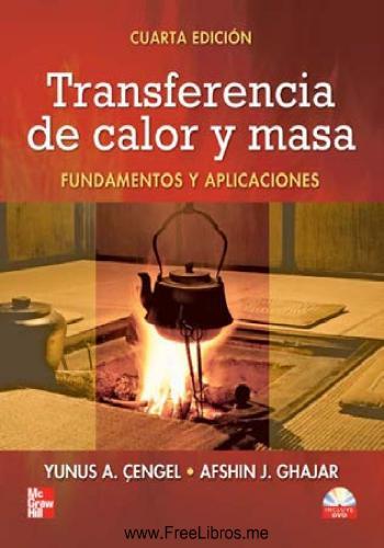كتاب Transferencia de calor y masa - Fundamentos y aplicaciones  Y_a_c_17