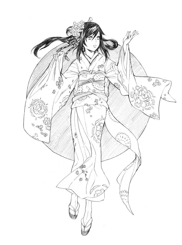Une nouvelle toute fraiche - Miyuki Nakano [[FINI!!!]] Kimono10