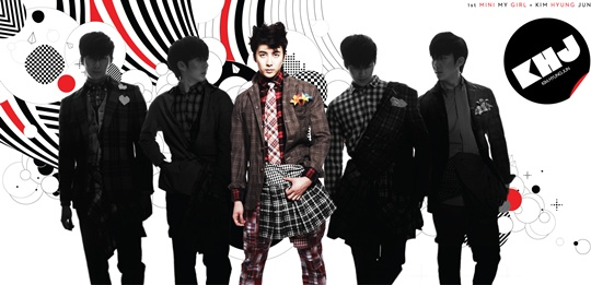 [SS501] Kim Hyung Jun reveals his album jacket photo 20110310