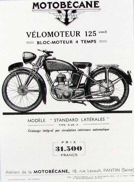 Motoconfort C45S D45a_110