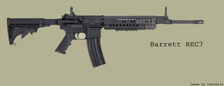 Colt M4 États-Unien Barret10