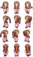 Characters de jeux et manga en vrac (style RMXP réadapté) Aeris10