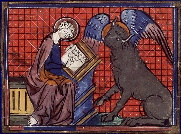 St Luc peignant la Vierge D_1210