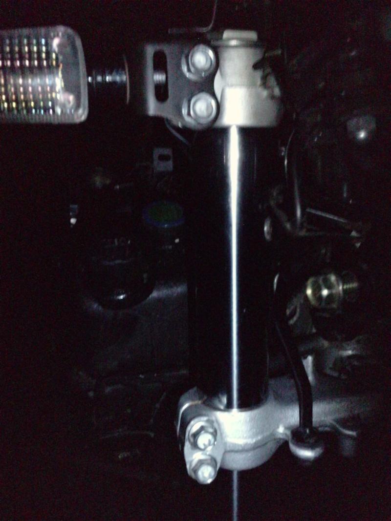 entretien de la fourche et changement des joints spis P0303110