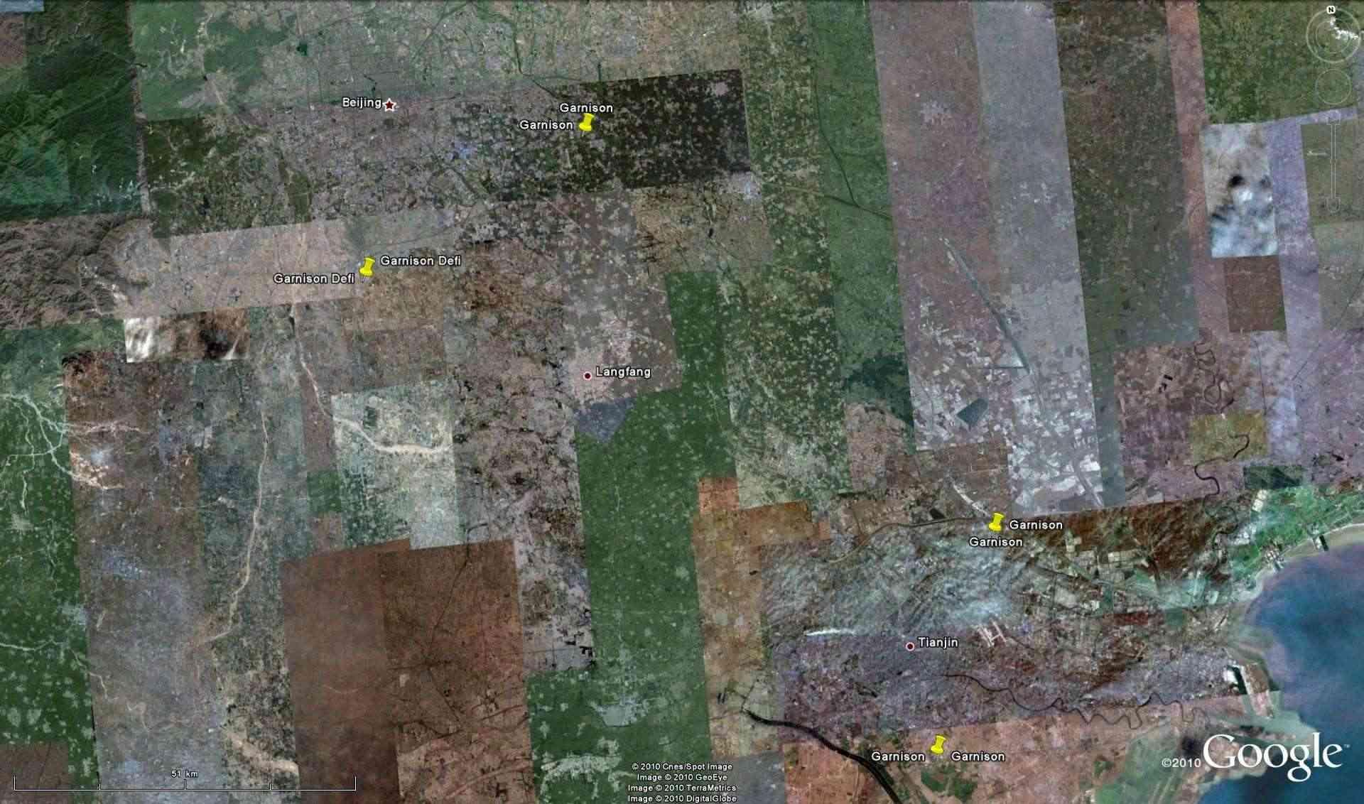 """Ancienne Garnison, Beizangcunzhen, Pekin, CHINE, 39°40'22.70""""N 116°20'4.00""""E - Page 2 Garnis10"""