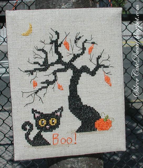 SAL Un chat noir pour Halloween 0710