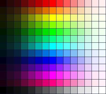 codigo de tabla de colores en html para web Xdddgg10