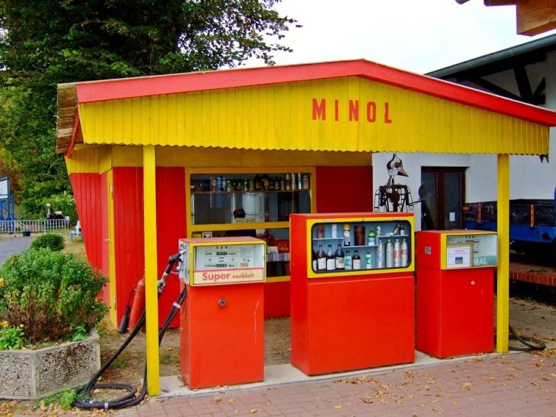 Minol Tankstelle Ddr-ta11