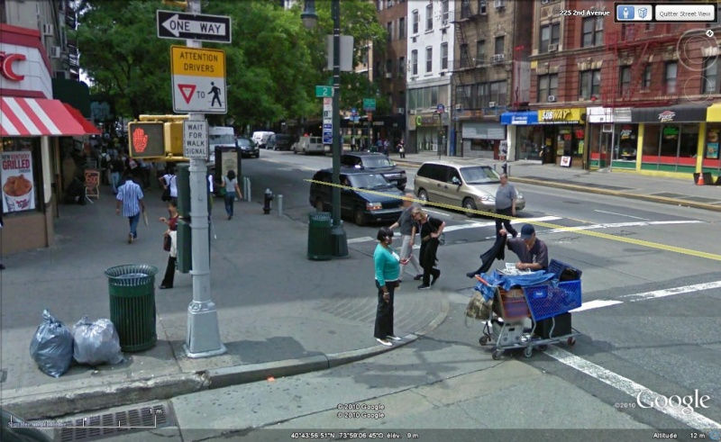 STREET VIEW : Panneau bien vu, New-York, USA Insoli10