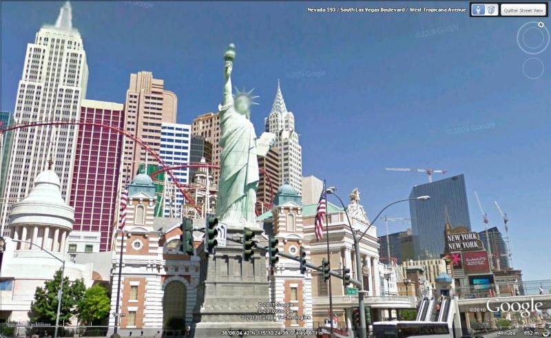 Statue de la Liberté = les répliques découvertes grâce à Google Earth - Page 4 Statue10