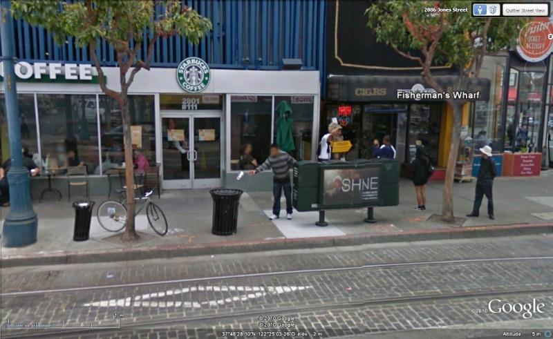 STREET VIEW : les prises inédites de photos... Verre10