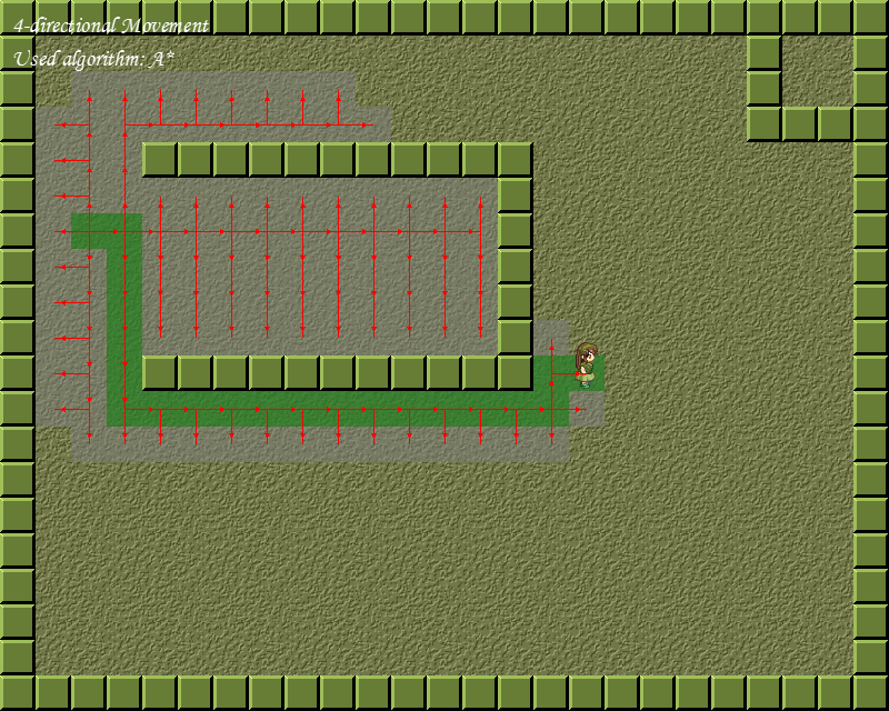 A Paper of Game AI - Pathfinding Algorithms and Implementations on Grid Map Screen12