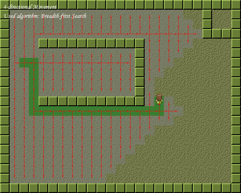 A Paper of Game AI - Pathfinding Algorithms and Implementations on Grid Map Screen13