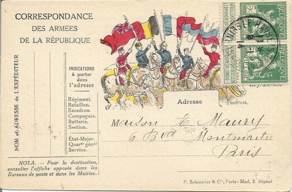 Obliteration belge bizarre sur semeuse , aide svp ? Numar131
