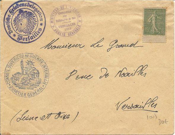 Congrès de Versailles 1932 Numari40