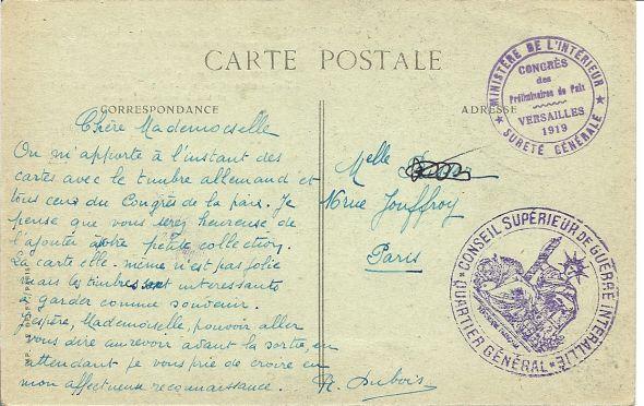 Congrès de Versailles 1932 Numari42