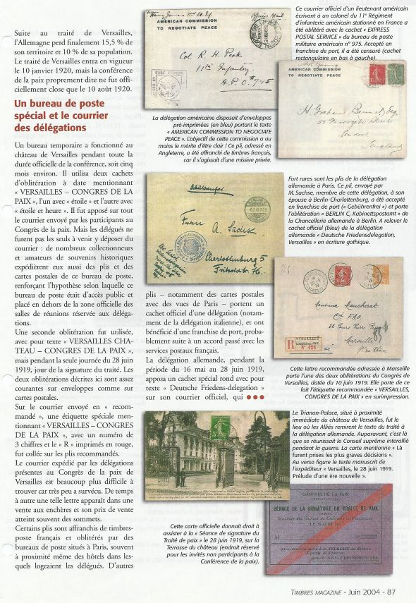 Congrès de Versailles 1932 Numari44