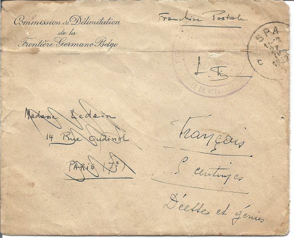 Congrès de Versailles 1932 Numari46