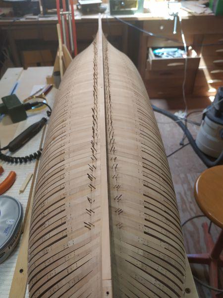 HMS EURYALUS echelle 1:56 par Tiziano Mainardi  - Page 5 Img_2038