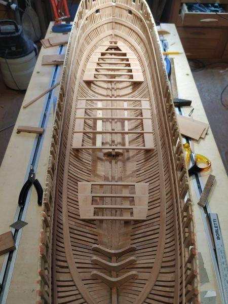 HMS EURYALUS echelle 1:56 par Tiziano Mainardi  - Page 9 Img_2064