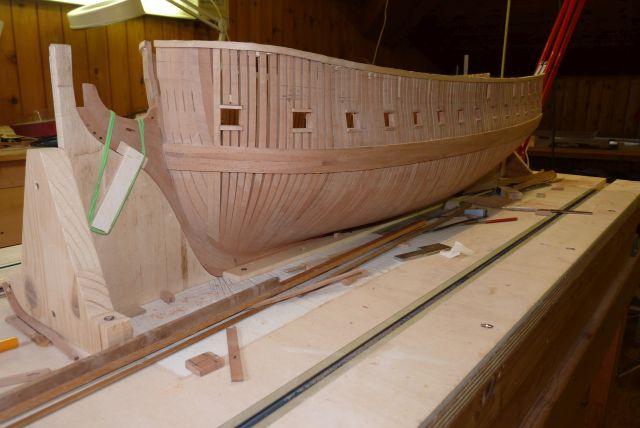 HMS EURYALUS echelle 1:56 par Tiziano Mainardi  - Page 6 P1100632
