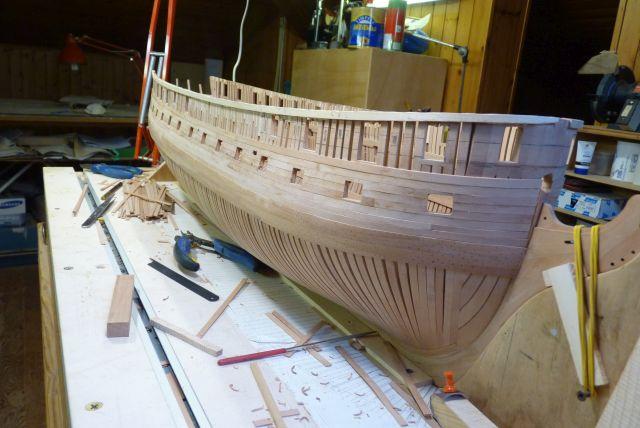 HMS EURYALUS echelle 1:56 par Tiziano Mainardi  - Page 8 P1100825