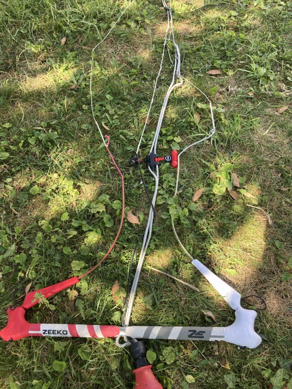 Vends Barre de kite ZEEKO 54 cm UDS 24 m 190€ Barre210