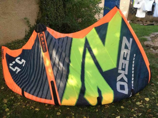 (Vendue) aile de kite ZEEKO Notus REV 5,5 2017 nue Zeeko110