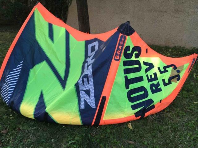 (Vendue) aile de kite ZEEKO Notus REV 5,5 2017 nue Zeeko210