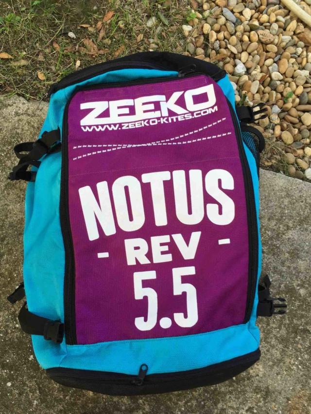 (Vendue) aile de kite ZEEKO Notus REV 5,5 2017 nue Zeeko310